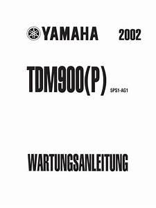 Wartungsanleitung Yamaha Tdm 900  P  Ab 01