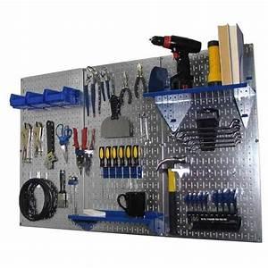 Wall, Control, Storage, Systems, -, 4, U0026, 39, Metal, Pegboard, Standard, Tool, Storage, Kit