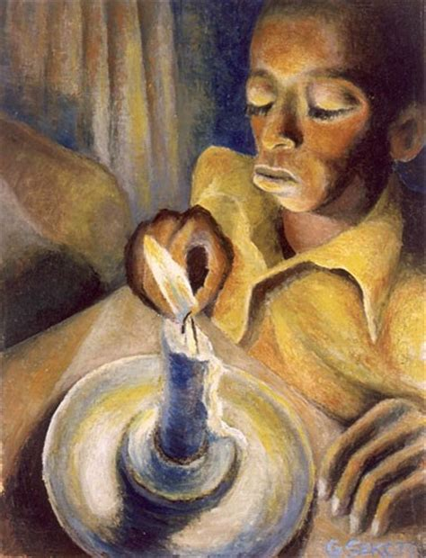 interior home styles boy and the candle 1943 gerard sekoto wikiart org