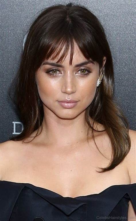 mind blowing hairstyle  ana de armas