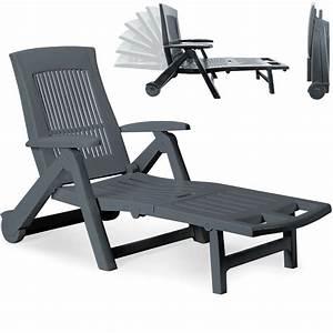 Bain De Soleil Pliable : chaise longue pliable pvc dossier r glable bain de soleil transat jardin ebay ~ Teatrodelosmanantiales.com Idées de Décoration