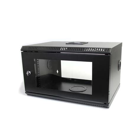 wall mount server cabinet 6u server rack wall mount lockable startech com