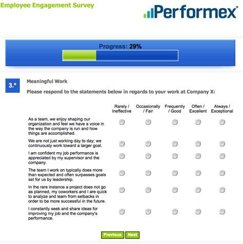 employee survey employee engagement consulting surveys performex