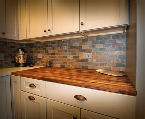 Backsplash Ideas For Butcher Block Countertops : Eddyinthecoffee. Elegant Porcelanosa Bathroom Designs