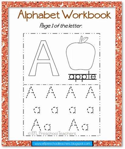 Alphabet Resources Workbook Eflpreschoolteachers