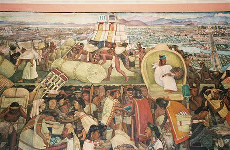 the history of mexico mural by diego rivera at the palacio nacional mexico city mexico a