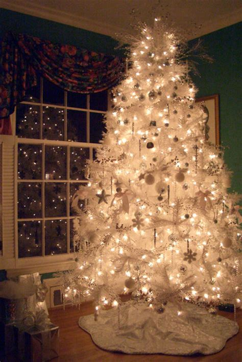 Beautiful Collection Of Gorgeous White Christmas Trees
