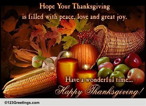 Meme G Home Designs : Thanksgiving Cards, Free Thanksgiving Wishes, Greeting