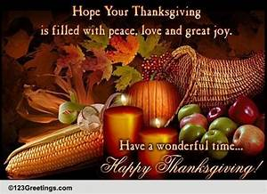 Thanksgiving Cards, Free Thanksgiving Wishes, Greeting ...