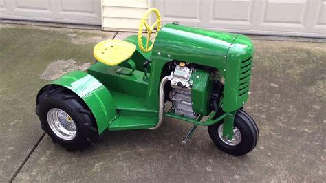 Vintage Garden Tractors by Custom Rod Bantam Antique Garden Tractor