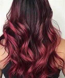Balayage Braun Rot : 31 best red ombre hair color ideas a hair brained idea pinterest haarfarbe ideen bunte ~ Frokenaadalensverden.com Haus und Dekorationen