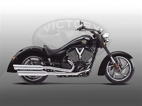 2010 Victory Kingpin 8-ball Motorcycle Desktop Wallpaper