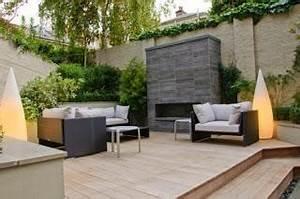 Kamin Mitten Im Raum : lindos patios modernos minimalistas paperblog ~ Frokenaadalensverden.com Haus und Dekorationen
