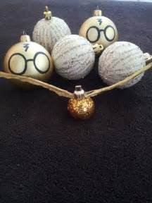 harry potter ornament set