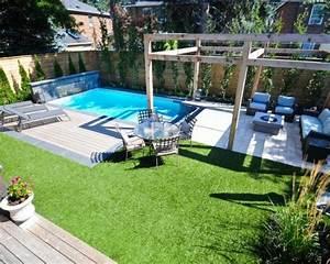 galerie d39art web amenagement petit jardin avec terrasse With amenagement petit jardin avec piscine
