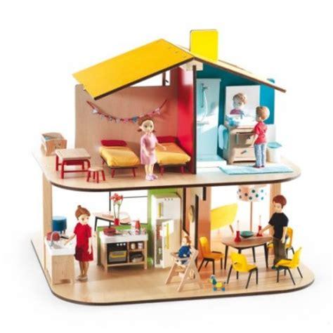 maison en bois jouet mot cl 233 maison poupee jeux jouets