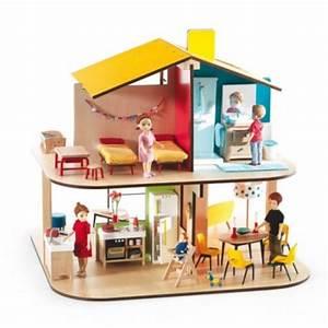 Maison Bois Pour Enfant : maison de poupee jeux et jouets pour enfant cadeau pour ~ Premium-room.com Idées de Décoration