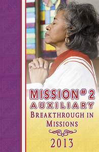 2013 Mission  2 Auxiliary Mission Guide By R H  Boyd
