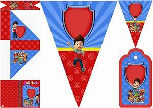 Paw Patrol Birthday Party: Free Party Printables Oh My