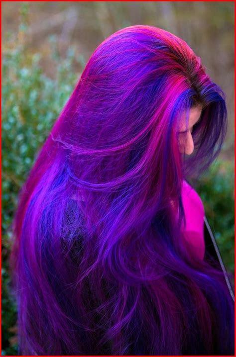 Blue Purple Hair Color Ideas Hair Color Dyed Hair Hair
