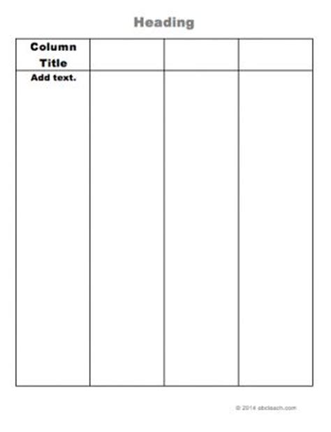 Graphic Organizer Templates  Columns And Charts. Persuasive Essay On Homework Template. Indian Promissory Note Format Image. How To Construct A Cover Letter. Sample Prayer For An Event Template. Passport Photo Template. Resume 2017 Templates. Professional Resume Formats Free Download Template. Free Calendar Download Word Wytby