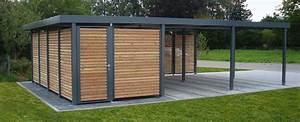 Doppelcarport Mit Geräteschuppen : carport aus stahl myport ~ Whattoseeinmadrid.com Haus und Dekorationen