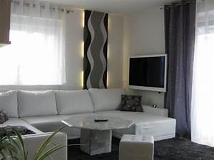 Grau Grün Wandfarbe : wohnzimmer mein domizil mit neuen farben von difire 30275 zimmerschau ~ Frokenaadalensverden.com Haus und Dekorationen