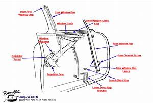 1962 Corvette Window Regulator  U0026 Runs Parts