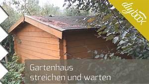 Lasiertes Holz Streichen : gartenhaus holz neu streichen ~ Whattoseeinmadrid.com Haus und Dekorationen