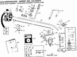 Craftsman 17 25cc Weed Wacker Fuel Line Diagram