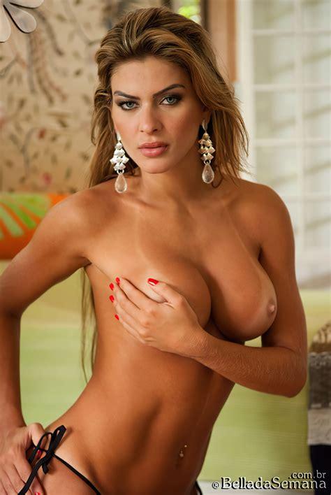 Gabriela Paganini Nude Sexy Collection Photos