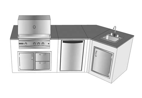 Kitchen Convert Your Backyard With Awesome Modular