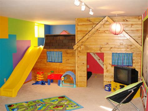 Rustic Modern Design Tips For Children's Play Room