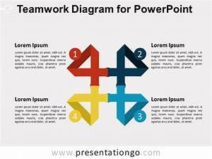 Teamwork Diagram For Powerpoint 2 Presentationgo Com