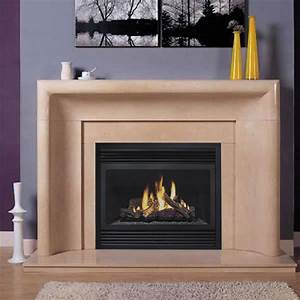 Casablanca - Marble Mantel - Fireplace Mantel Surrounds