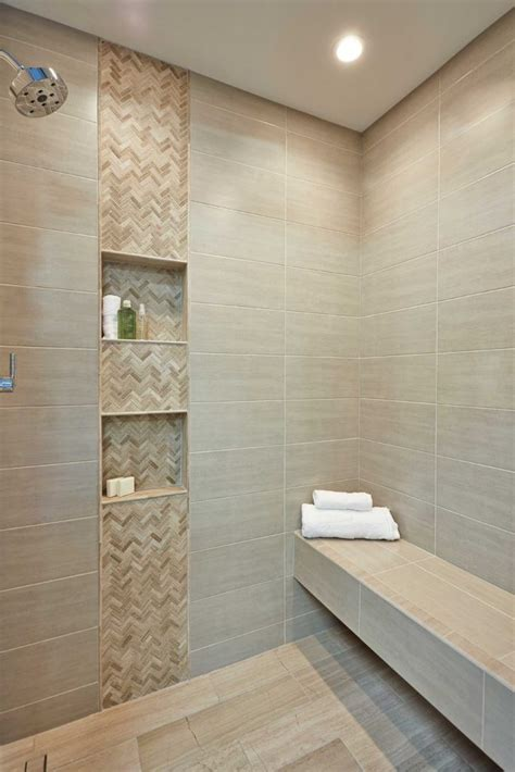 travertine showers  accent wall google search