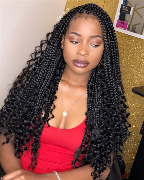 20 Super Flattering Braids for Curly Hair of Different