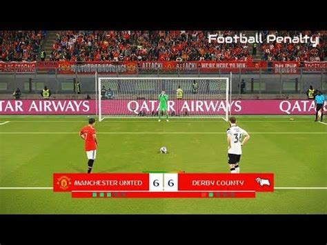MANCHESTER UNITED vs DERBY COUNTY | Penalty Shootout | PES ...