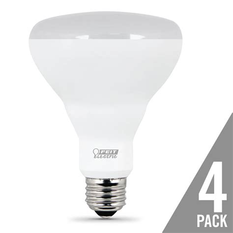650 lumen 5000k dimmable led br30 feit electric