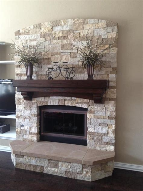 stack fireplace 25 best ideas about stacked fireplaces on