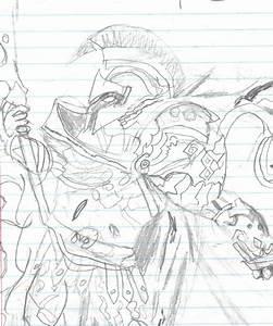 Ares,Greek God of War by paladin6657 on DeviantArt