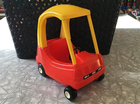 1990 Fisher Price Little Tikes Dollhouse #5585 Cozy Coupe Car | Cozy coupe, Little tikes, Coupe cars