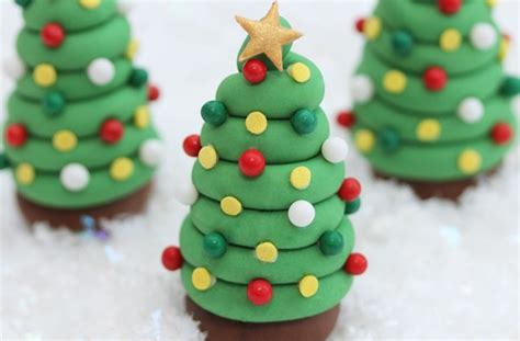 easy classy christmas tree from fondant tree cake decorations goodtoknow