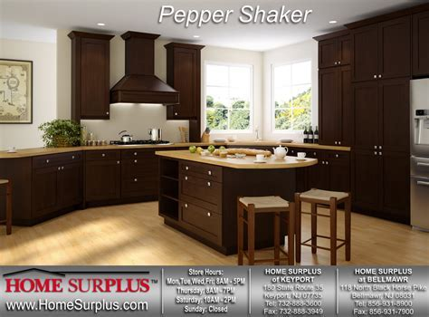 Pepper Shaker Cabinets:   Home Surplus