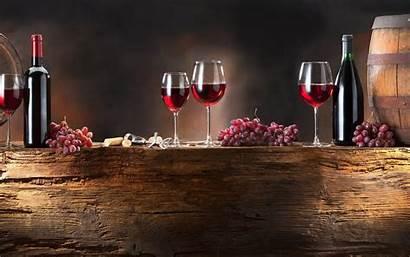 Wine Cup Grapes Bottles Desktop Backgrounds Wallpapers