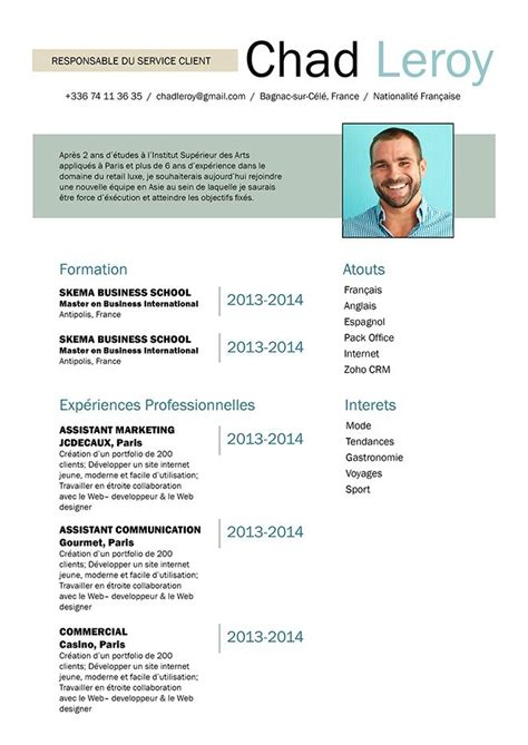 Faire Un Cv Modele by Comment Faire Un Curriculum Vitae Cv Innovant