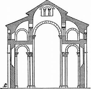 Plan Of St  Sernin  Toulouse