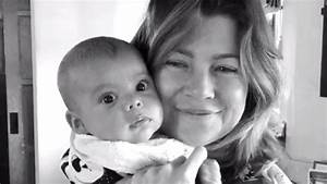 Ellen Pompeo brings her baby to work! The 'Grey's Anatomy ...
