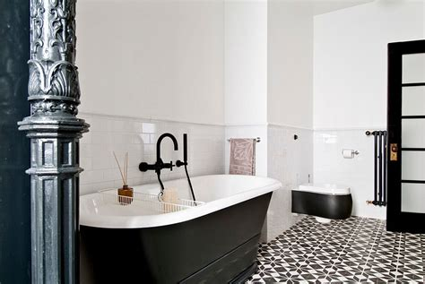Black And White Tiled Bathroom Floor by 25 Creative Geometric Tile Ideas That Bring Excitement To