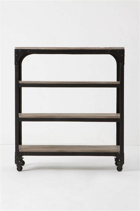 industrial bookcase on wheels 19 best images about industrial bookcase on pinterest